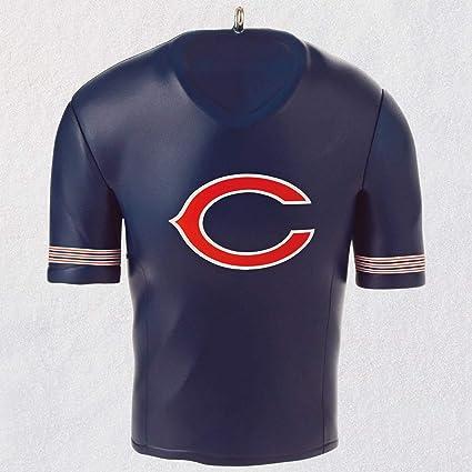 watch 5c679 9a786 Amazon.com: Hallmark Chicago Bears Jersey Ornament City ...