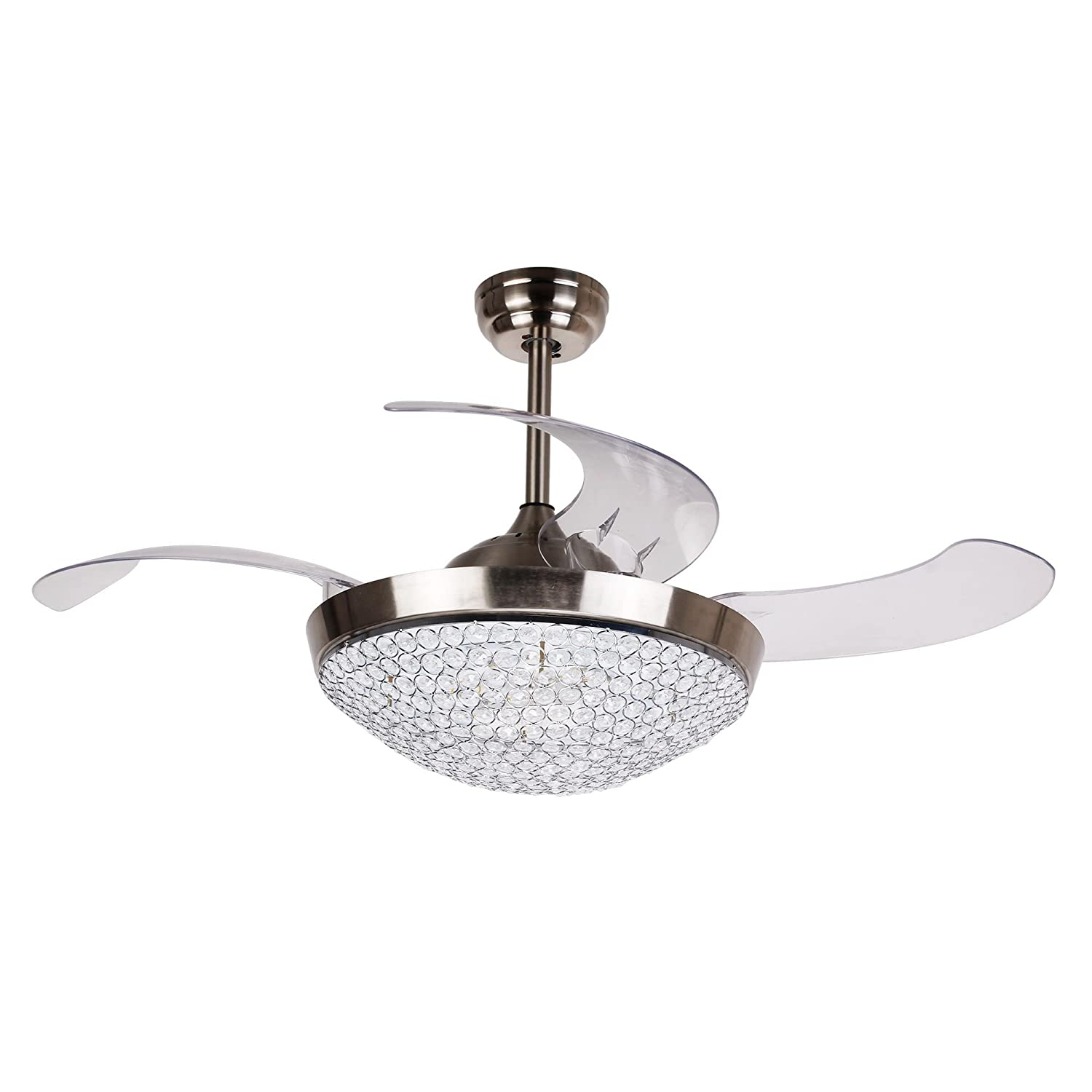 Hunter Indoor Ceiling Fan with light and pull chain control – Builder Deluxe 52 inch, New Bronze, 53091