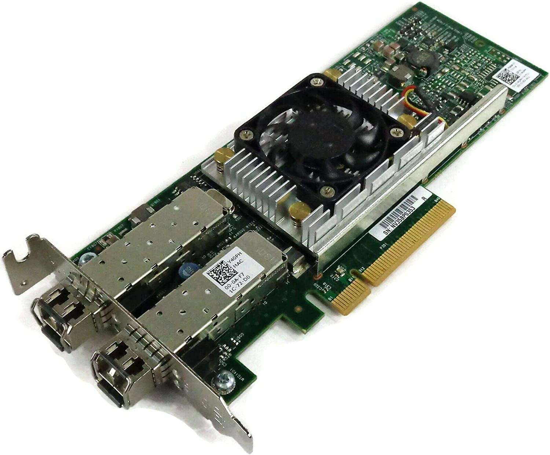 Dell Y40PH Broadcom 57810S Dual Port 10GbE SFP+ Network Card Low Profile D/PN: 0Y40PH