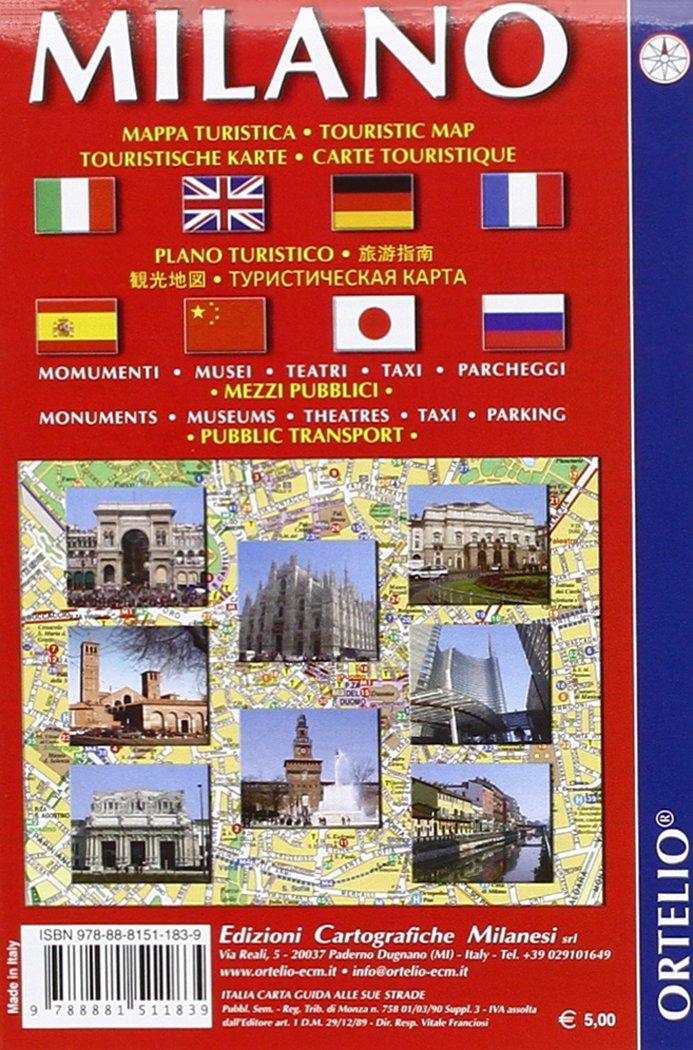 Milano turistica  Mappa turistica, monumenti, musei, teatri