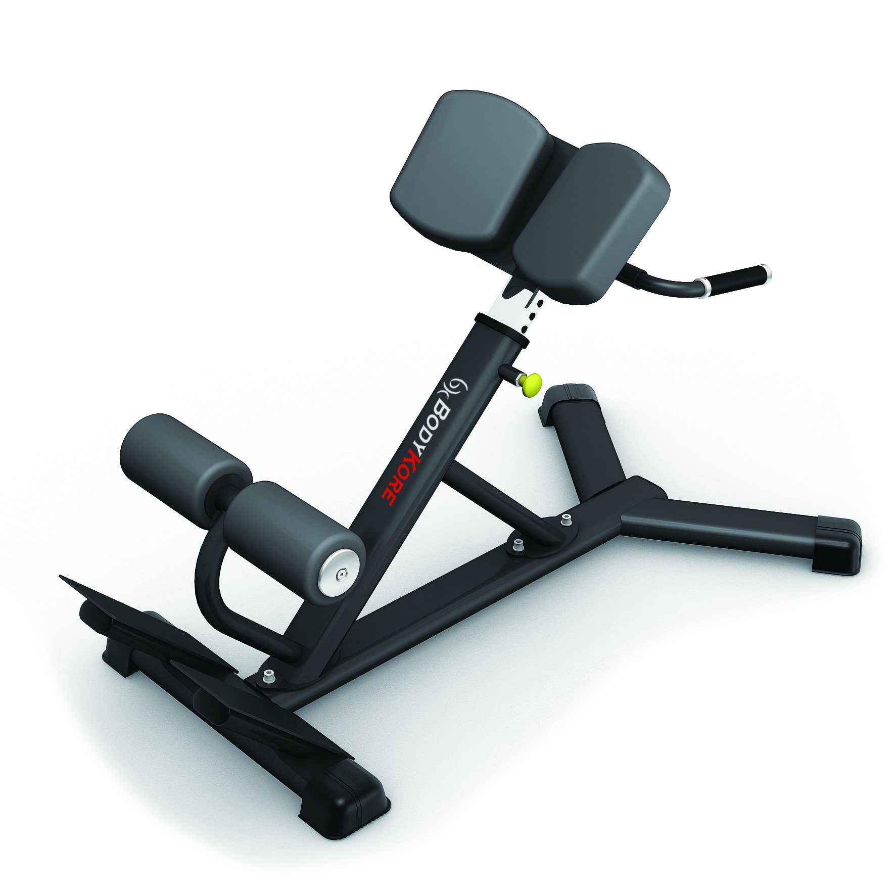 Bodykore Commercial Hyper Extension Roman Chair Lower Back/Hamstrings/Glute Machine 45 Degree Angle (1000lb Rated) G204
