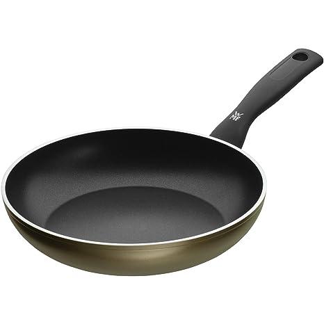 WMF 545244021 Permadur Element Sartén de Aluminio, Antiadherente, Apto para Todo Tipo de Cocinas Incluido Inducción, Exterior Resistente en Acero, 24 ...