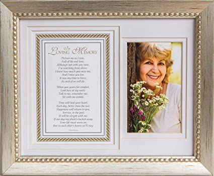 Amazon.com : In Loving Memory Sentiment Memorial Picture Frame ...