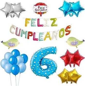 COTIGO-Globos Feliz Cumpleaños Happy Birthday Fiesta Party ...