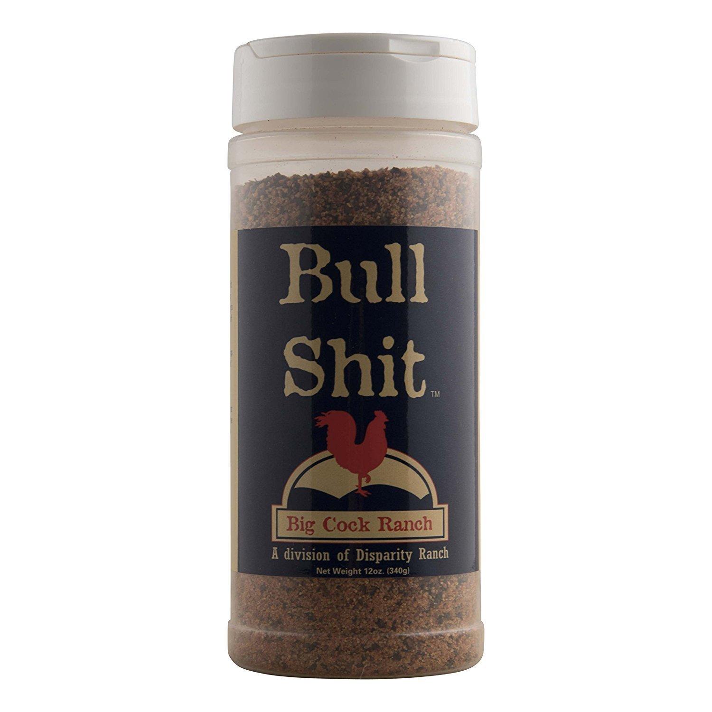 Bull Shit Steak Seasoning, Net Wt 12oz