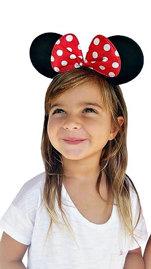 9dd84cc53a80 Amazon.com  Perfect Pairz Minnie Ear Headbands  Clothing
