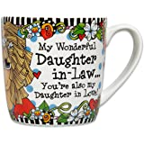 Brownlow Gifts Suzy Toronto Ceramic Mug My Wonderful Daughter In Law