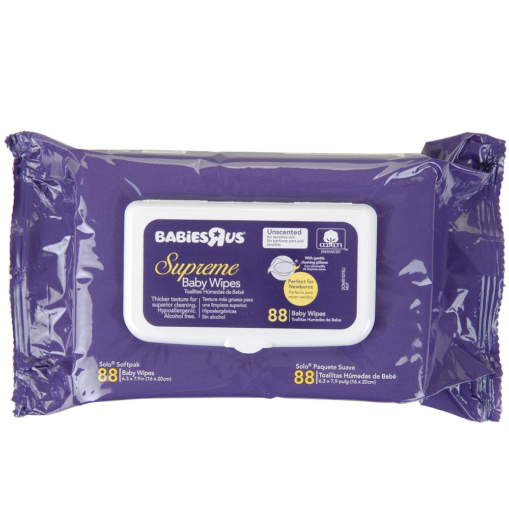 Amazon.com : Supreme NB Solo Pack Wipes - 88-Count : Baby Bathing Products : Baby