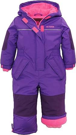 Pink Platinum Girls Snowmobile Snowsuit