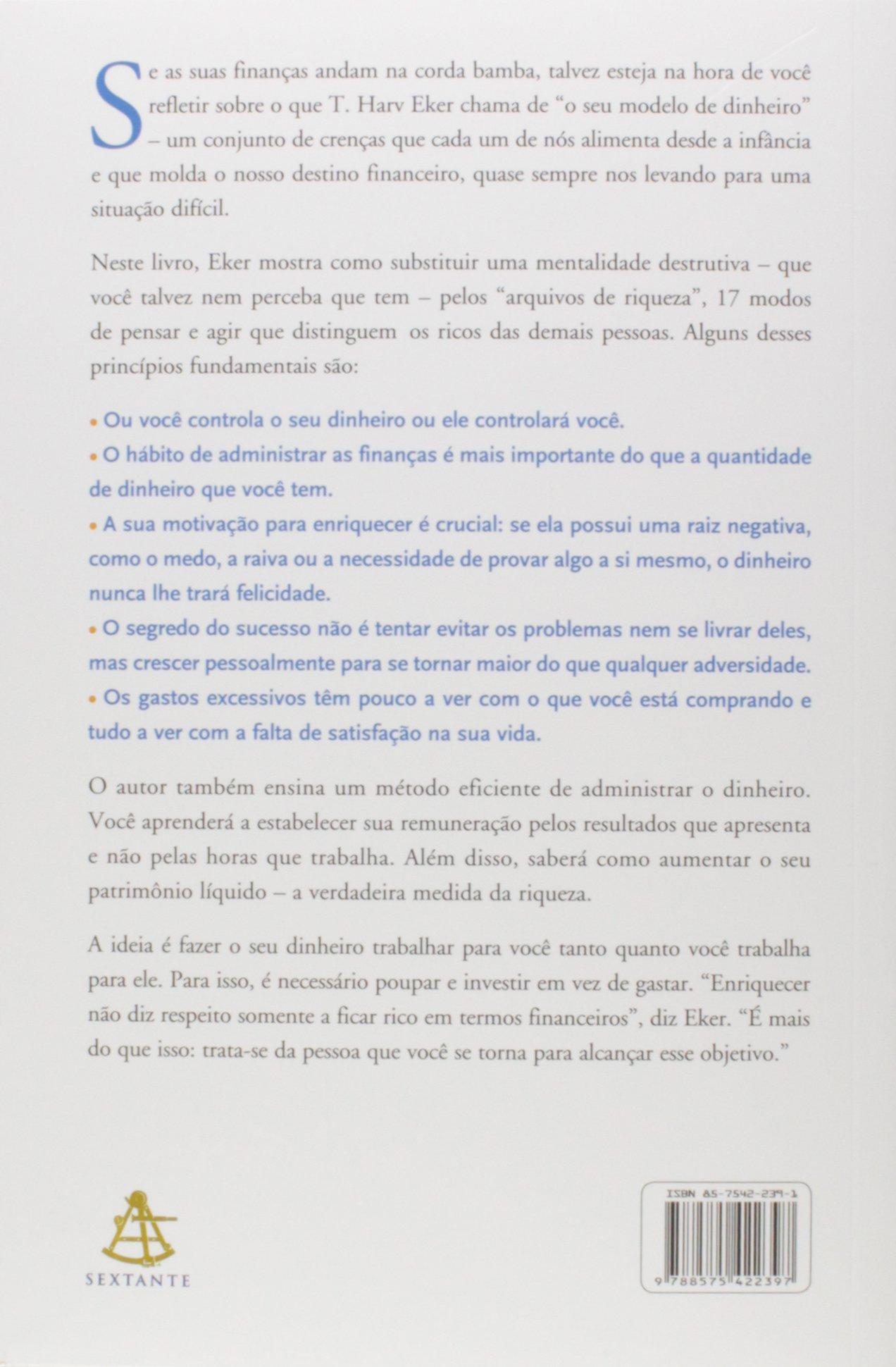 Os Segredos Da Mente Milionária 9788575422397 Livros Na Amazon