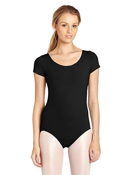 292b30f12980 Capezio Short Sleeve Leotard at Amazon Women s Clothing store ...