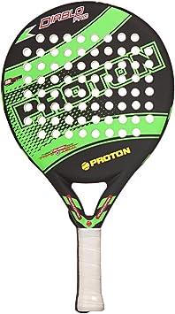 PROTON Diablo Pala Pádel Raqueta Indoor Outdoor Negro Verde ...