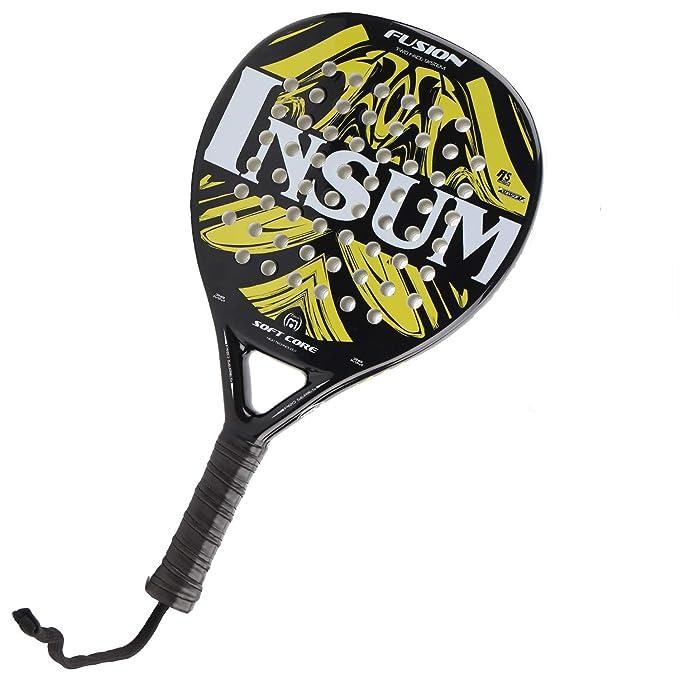 Amazon.com: weierfu - Pala de tenis de fibra de carbono con ...