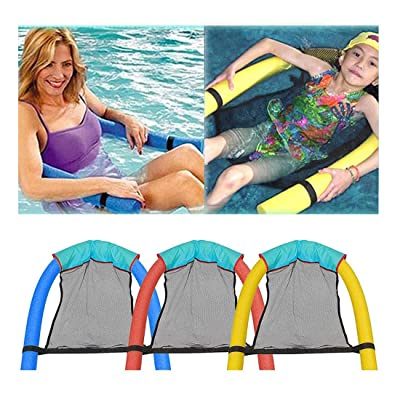 Lacegre Swimming Pool Float Chair Soft Comfortable Inflatable Seats Throw Rings: Sports & Outdoors