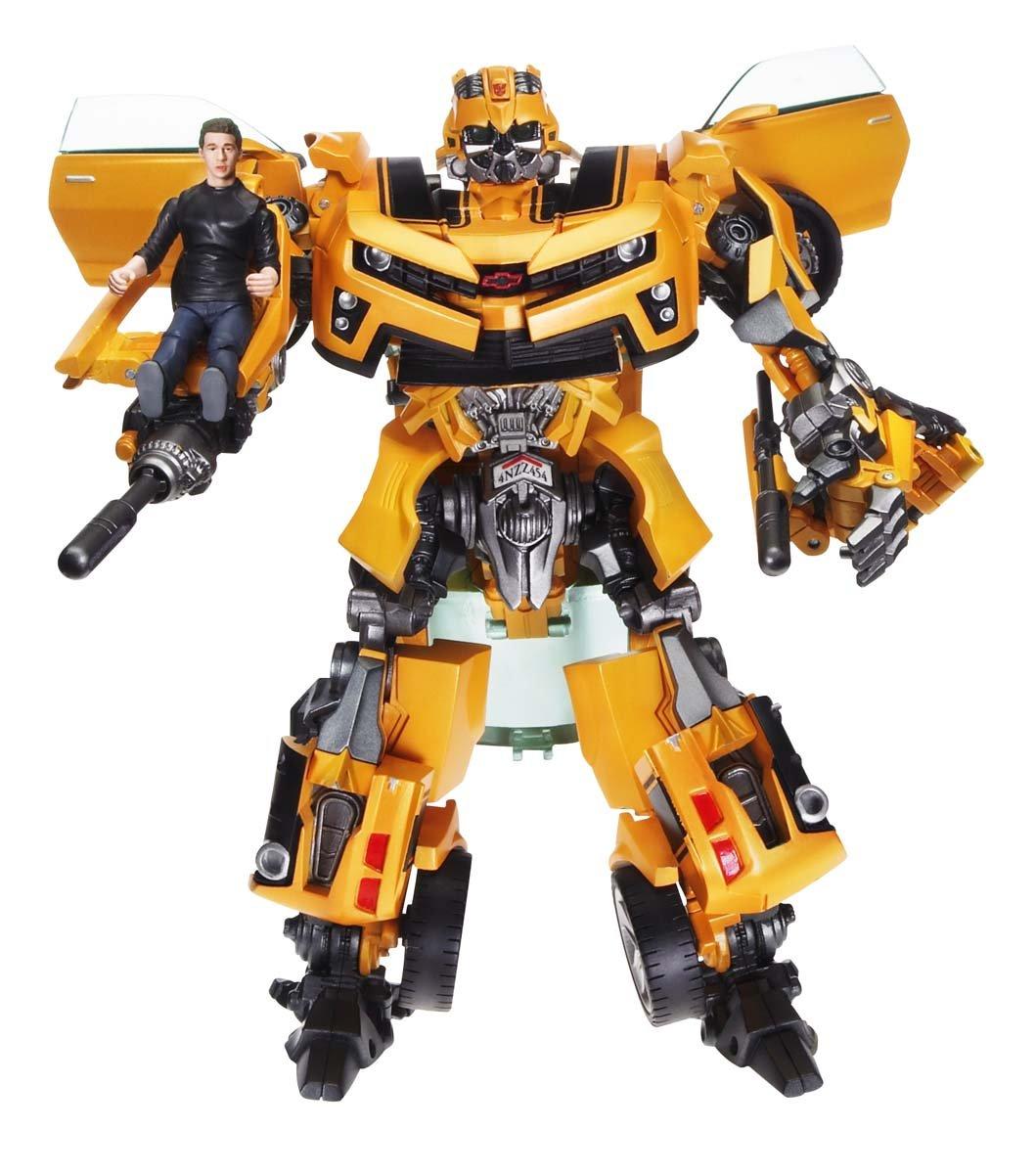 amazon com transformers human alliance bumblebee with sam toys
