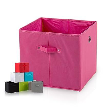 diMio SB1 Faltbox - Caja con asas (extra de profundidad), poliéster, rosa