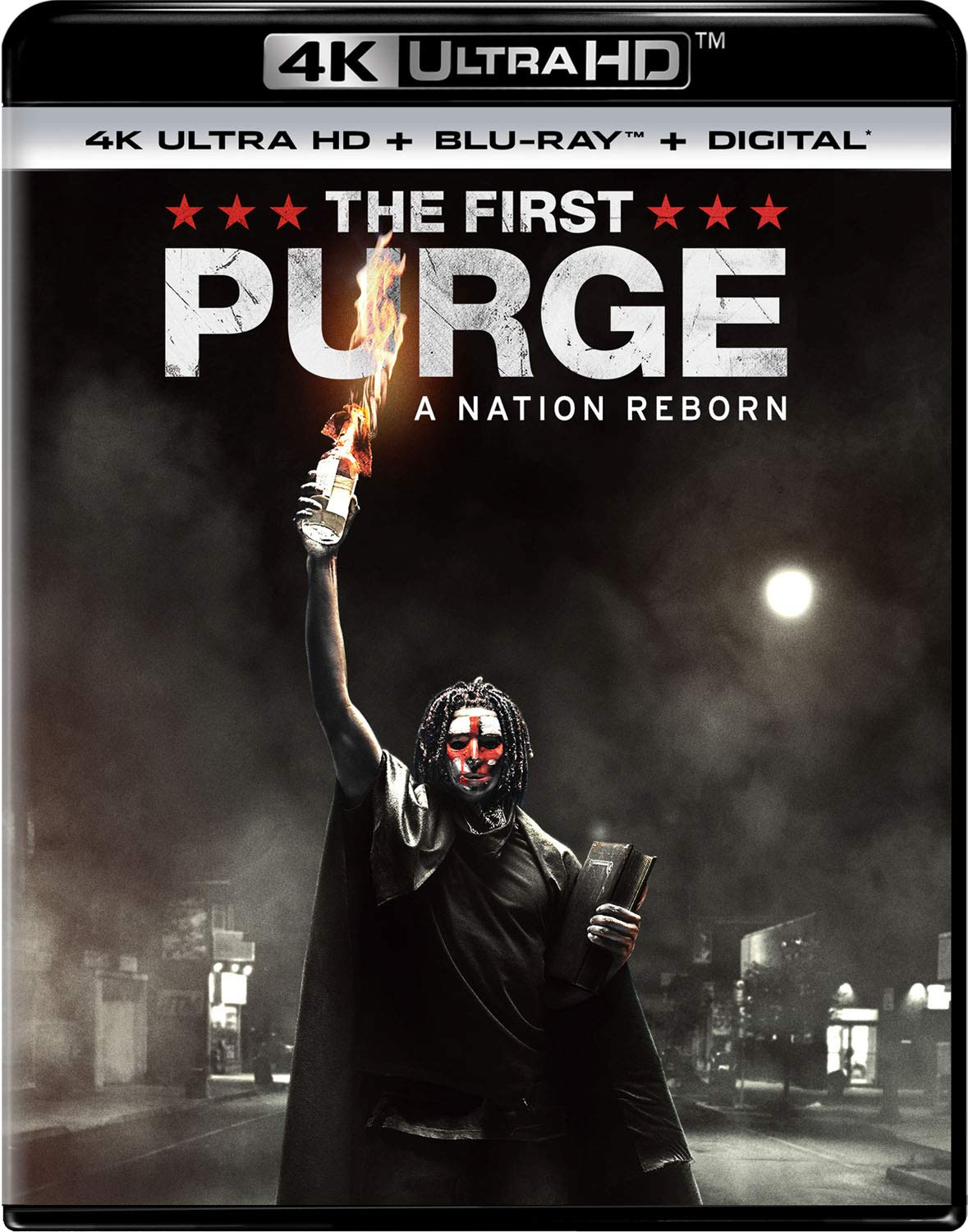 4K Blu-ray : The First Purge (With Blu-ray, 4K Mastering, Digital Copy, 2 Pack, 2PC)