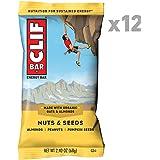 CLIF BAR - Energy Bar - Nuts & Seeds - (2.4 Ounce Protein Bar, 12 Count)