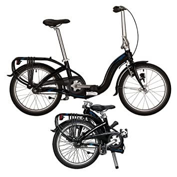 "tern Swoop Duo - Bicicletas plegables - DR 20"" negro 2016"