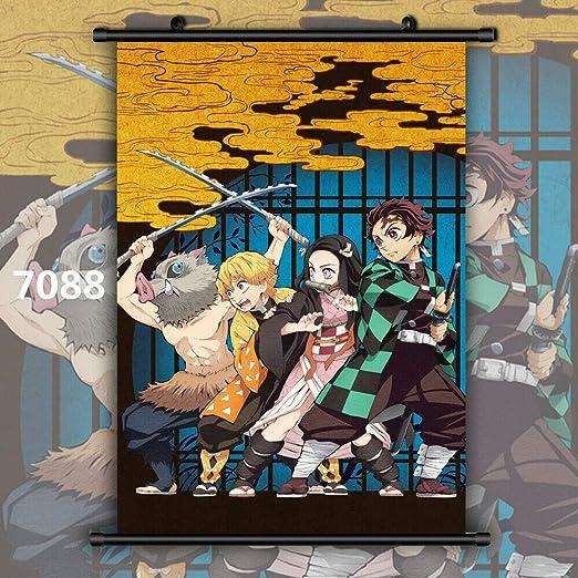Demon Slayer Kimetsu No Yaiba Kamado Nezuko Tanjirou/&Kamado Nezuko Wall Poster