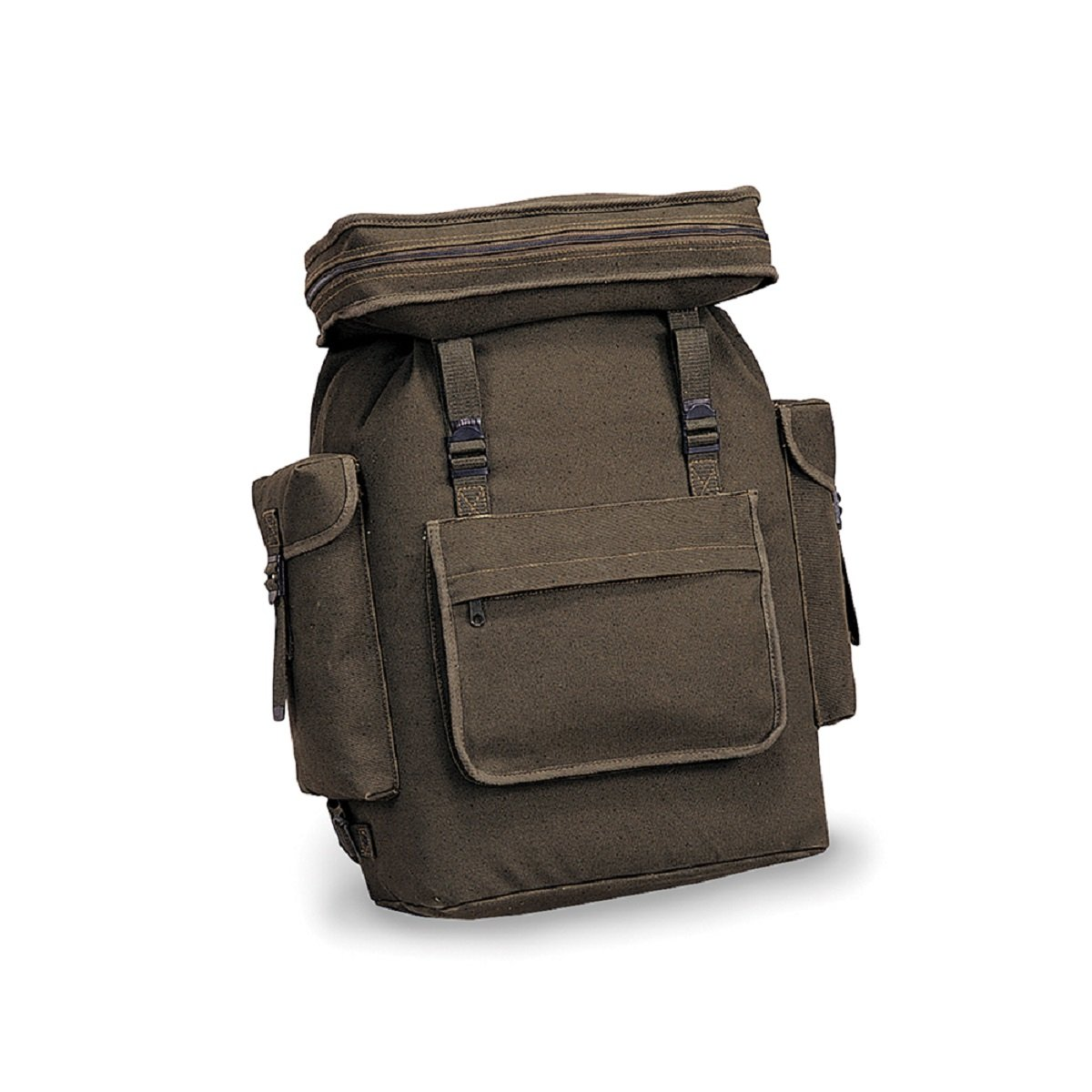 EUROPEAN STYLE KNAPSACK - O.D., Case of 12 by DollarItemDirect