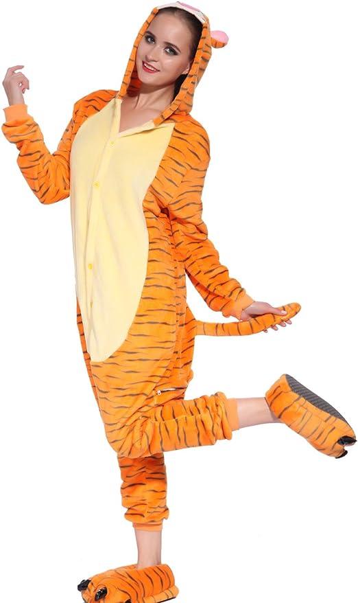 Maboobie - Disfraz mono de Tigger Winnie Disfraces para Adultos ...