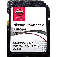 Laatste 2020/2021 SD-KAART voor Nissan CONNECT 2/V5 (LCN2) SAT NAV SD-KAART dekking heel Europa - E-NV200, NOTE, JUKE…