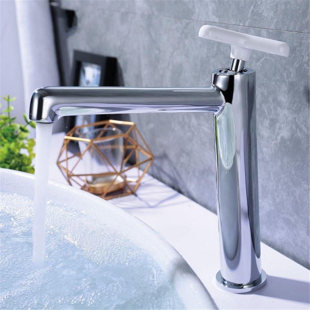 A S.Twl.E Sink Mixer Tap Faucet Bathroom Kitchen Basin Tap Leakproof Save Water copper Chrome color dual control single Handle basin mixer bathroom plating basin Faucet A