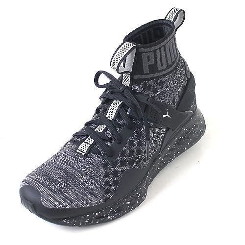 Evoknit Puma Wn's 01 Metal Ignite Total Black Sneakers 189896 ZZPFBrnE