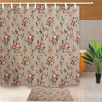 Travel Shower Curtain Holiday Sea Lsland Resort Automobile With Rubber Dinghy SandBeach 71X71Inch Mildew Resistant
