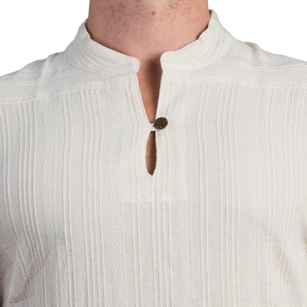 para Hombre PANASIAM Camisa Casual Manga Corta Corte Amplio