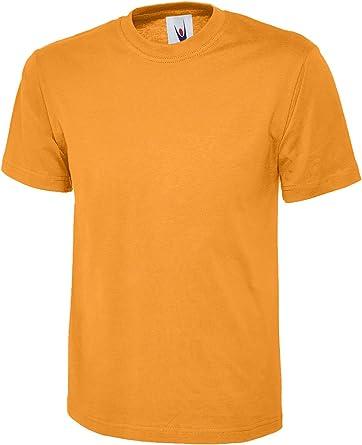 Uneek Classic - camiseta 100% algodón Tee Shirt – 16 colores disponibles: Amazon.es: Ropa y accesorios
