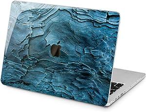"Cavka Hard Shell Case for Apple MacBook Pro 13"" 2019 15"" 2018 Air 13"" 2020 Retina 2015 Mac 11"" Mac 12"" Cover Plastic Pattern Protective Tree Laptop Nature Wood Grain Design Glam Print Texture Bark"