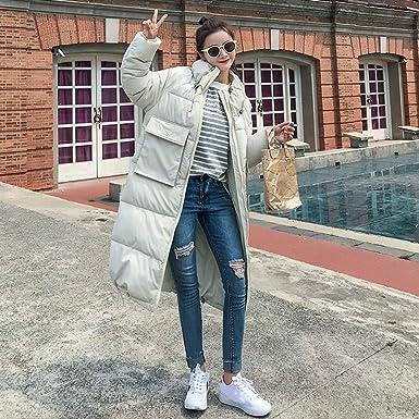 Abrigo para el Bolsillo de la Mujer, cálido y cálido Abrigo de Invierno