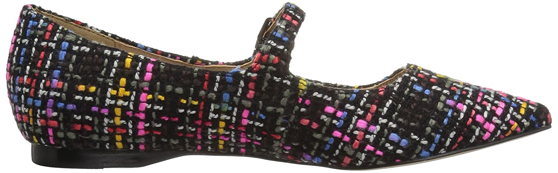 The Fix Women's Estrella Mary Toe Jane Tweed Ballet Pointed Toe Mary Flat B06XH4ZV57 6.5 B(M) US|Black Multi c6c2cd