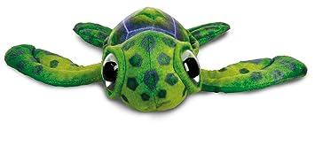 Peluche Tortuga Marina 28cm Ojos grandes Coleccionables - calidad super soft - (Verde)