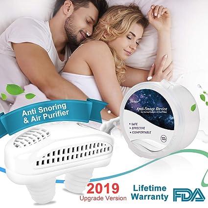 2-en-1 Dispositivos Anti Ronquidos, Actualizado Soluciones Anti Ronquidos Respiraderos de Nariz