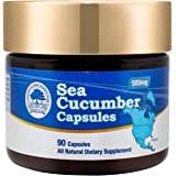 DOL Wild Caught Sea Cucumber Capsules Super Natural Antioxidant, Immune Builder-90 Capsules