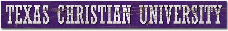 Legacy NCAA Fan Shop Doorway Plank Sign 4x36
