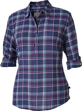 ROYAL ROBBINS Women's Oasis Plaid Popover Shirt