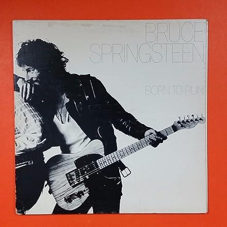 BRUCE SPRINGSTEEN Born To Run Columbia JC 33795 LP Vinyl VG+ Cover VG+ GF