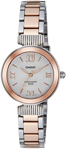 Casio Reloj de Mujer LTP-E405BPG-7A