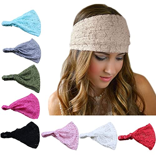 DRESHOW Womens Headbands Headwraps Hair Bands Bows Accessories