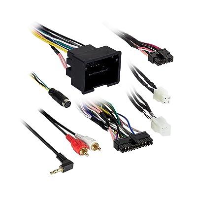 Metra Electronics AX-ADGM04 Custom Fit 44-Way LAN-Data Axxess ADBOX Harness Incl.: AX-ADGM04 Harness/4-Pin To 4-Pin Resistor Pad Harness Custom Fit 44-Way LAN-Data Axxess ADBOX Harness: Automotive
