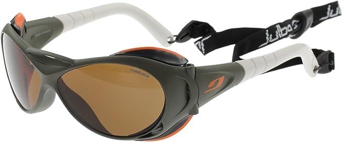 Julbo Explorer Sonnenbrillen Khaki Cameleon Anti Beschlagen Photochrom Polarisierten Mittelgroß Elektronik