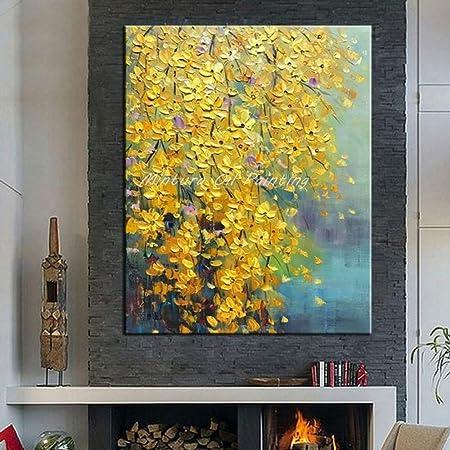 mmzki Las Flores y el árbol dibujan Pinturas al óleo de Morden en ...
