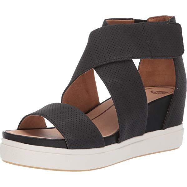 Dr. Scholl's Womens Sheena Black Size: 6: .au: Fashion