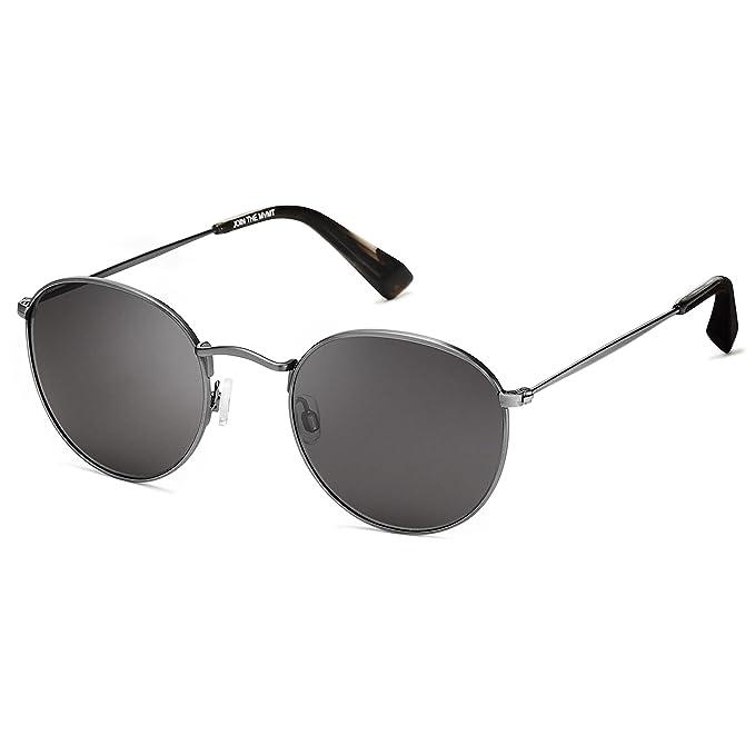 Amazon.com: Mvmt Icon | polarizadas redondo anteojos de sol ...