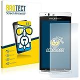 BROTECT AirGlass Protection Verre Flexible pour Sony Ericsson Xperia Arc S LT18i Film Vitre Protection Écran - Dureté 9H