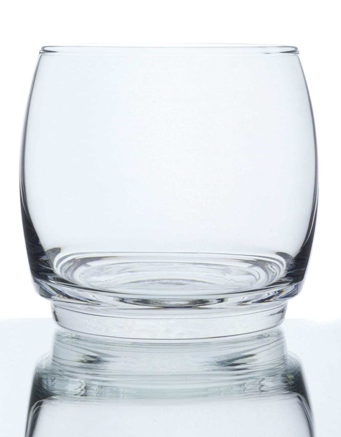 Set of 6 Le Virage Stackable Clear Glass 11 Ounce Double Old Fashioned Glasses